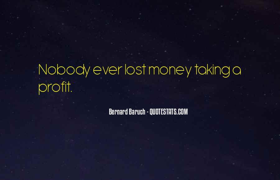 Bernard Baruch Quotes #757364
