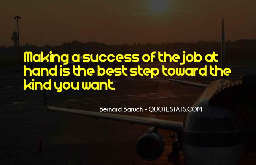 Bernard Baruch Quotes #805992