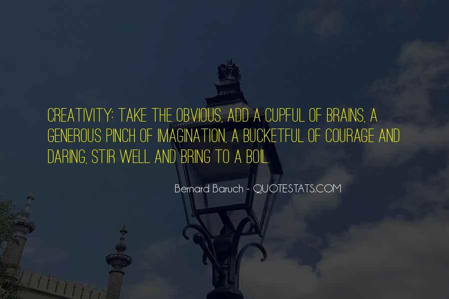 Bernard Baruch Quotes #816338