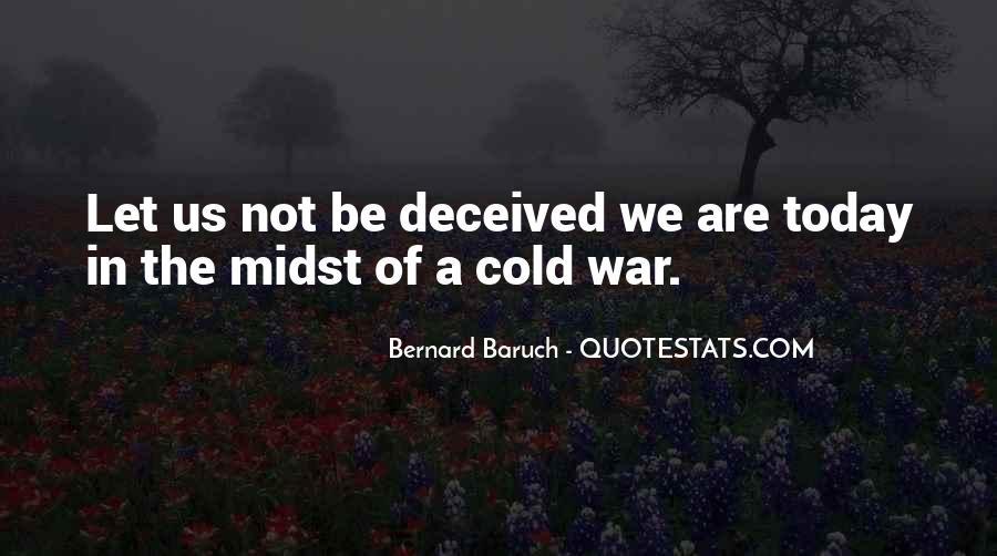 Bernard Baruch Quotes #891007
