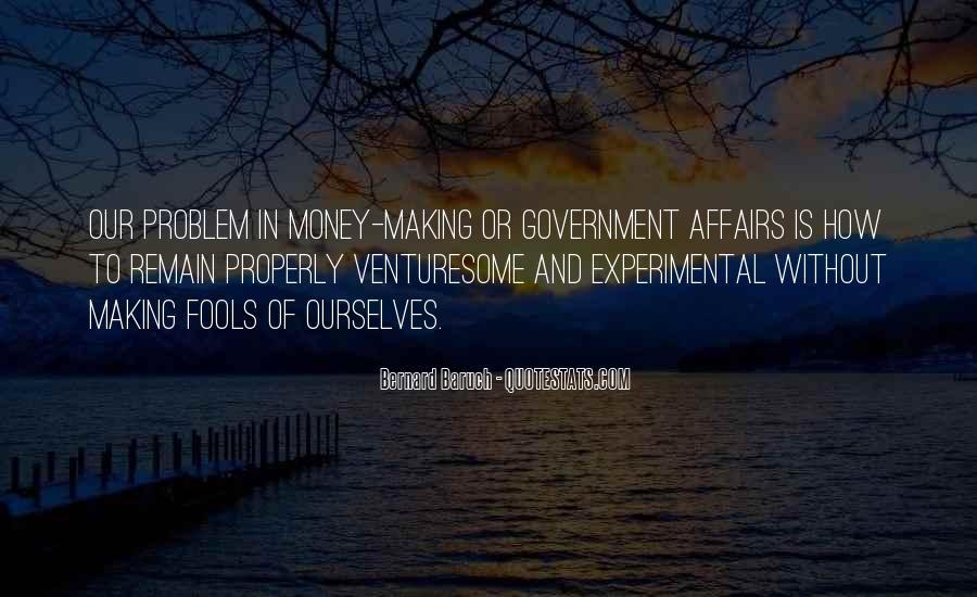 Bernard Baruch Quotes #929733