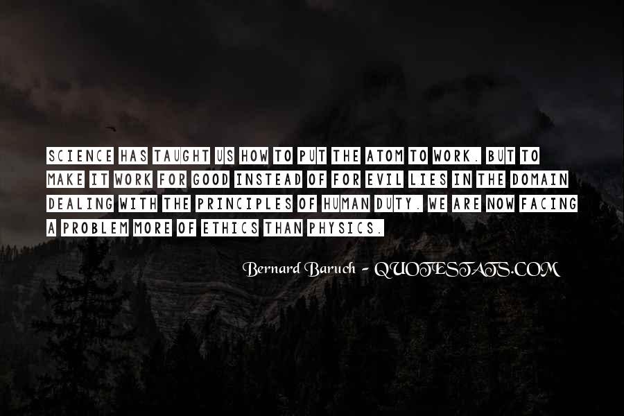 Bernard Baruch Quotes #981659