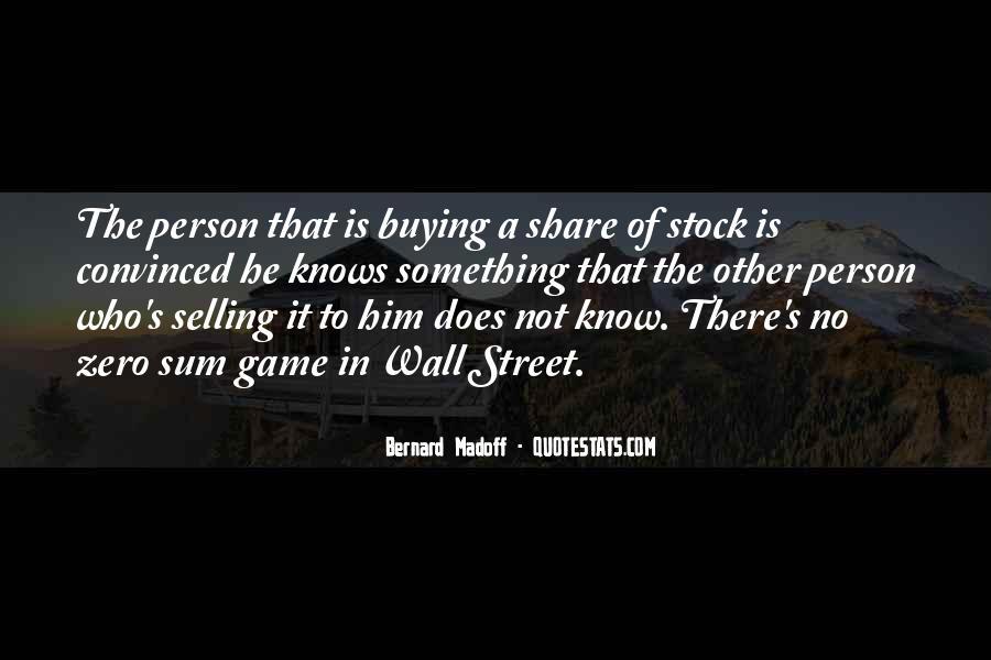 Bernard Madoff Quotes #1776465