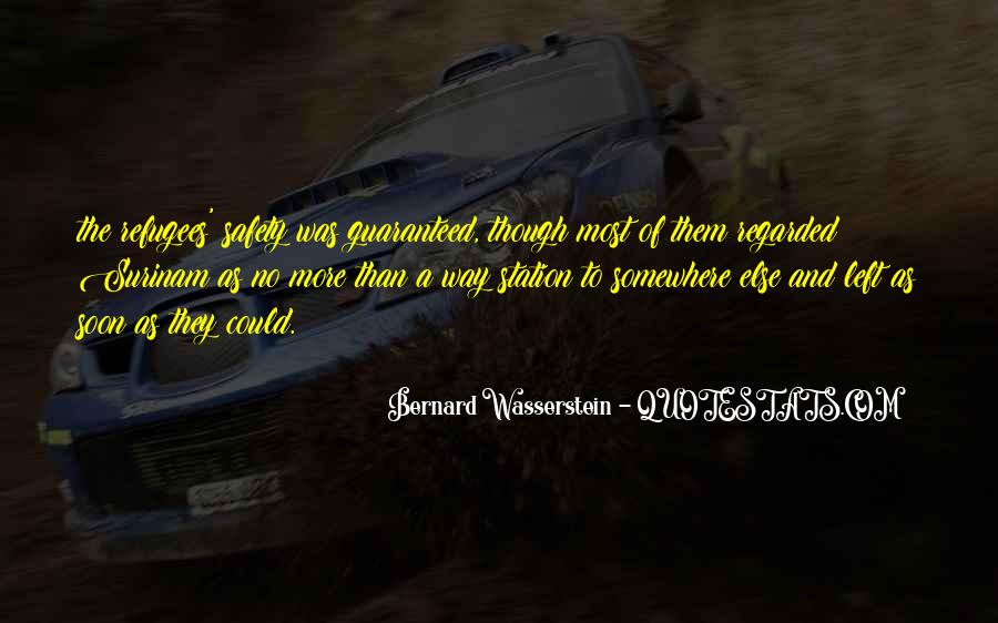 Bernard Wasserstein Quotes #1863289