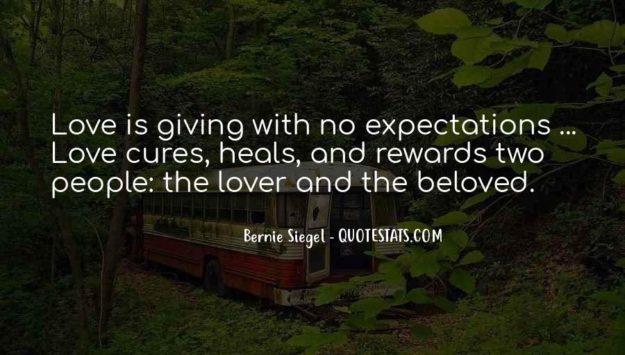 Bernie Siegel Quotes #1041519