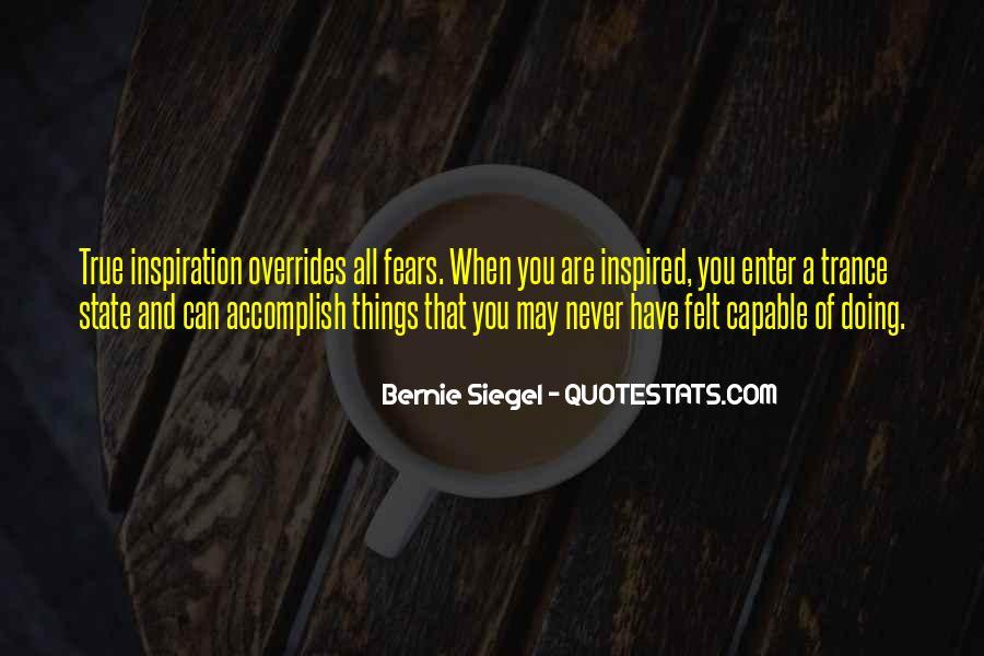 Bernie Siegel Quotes #1471816