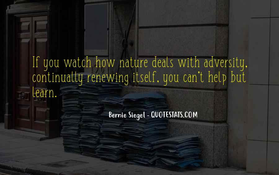 Bernie Siegel Quotes #1539076