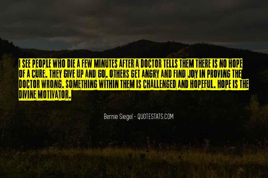 Bernie Siegel Quotes #215084