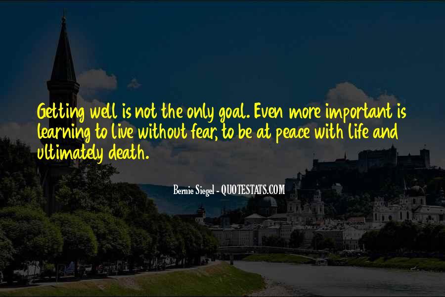 Bernie Siegel Quotes #245292