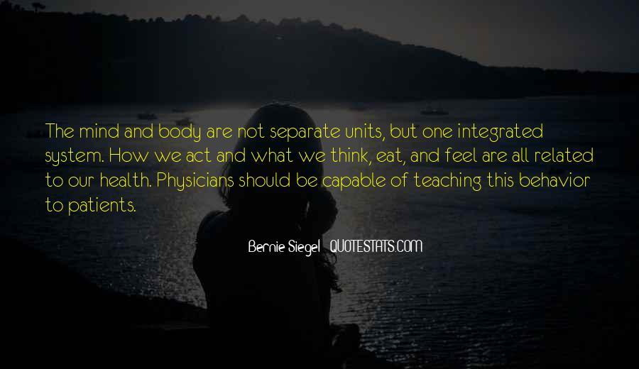 Bernie Siegel Quotes #348662