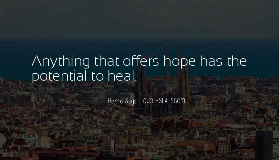 Bernie Siegel Quotes #394097