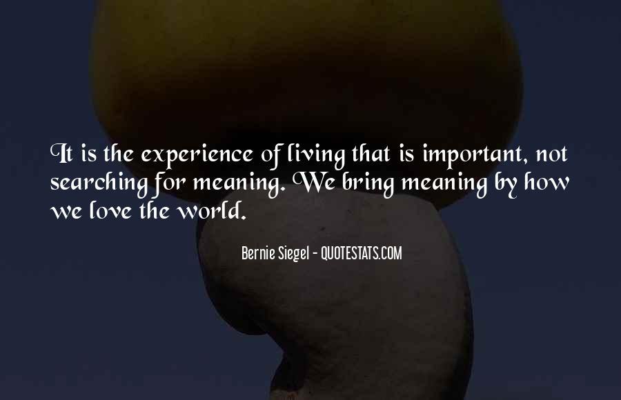 Bernie Siegel Quotes #43315