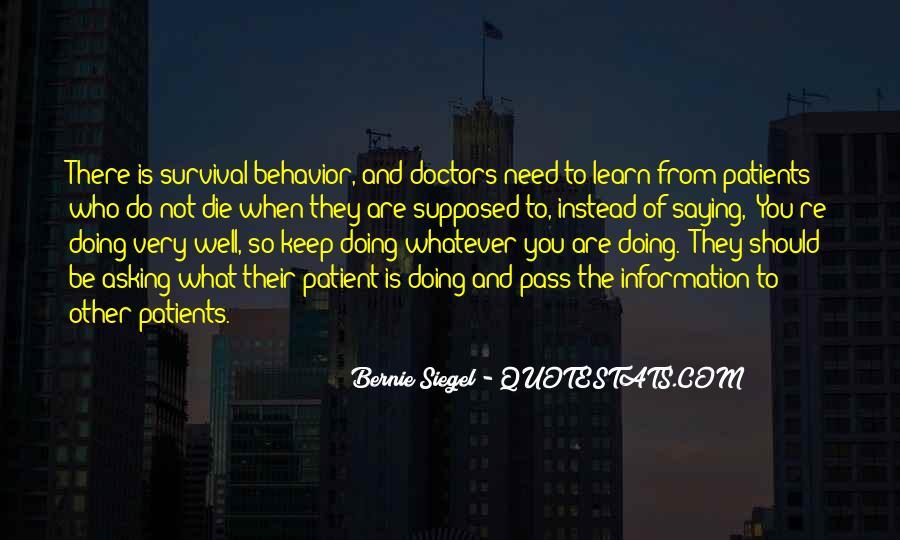 Bernie Siegel Quotes #545502