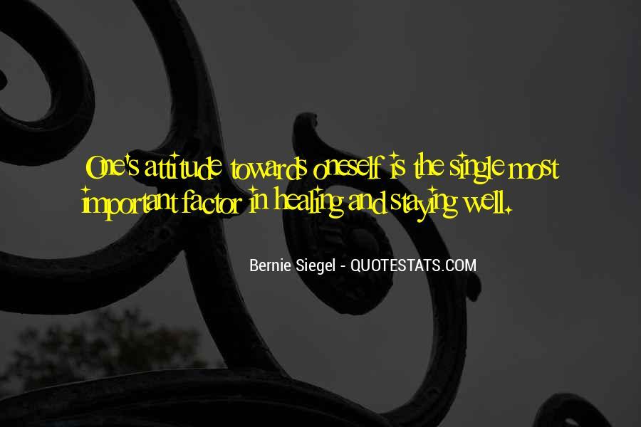 Bernie Siegel Quotes #548826