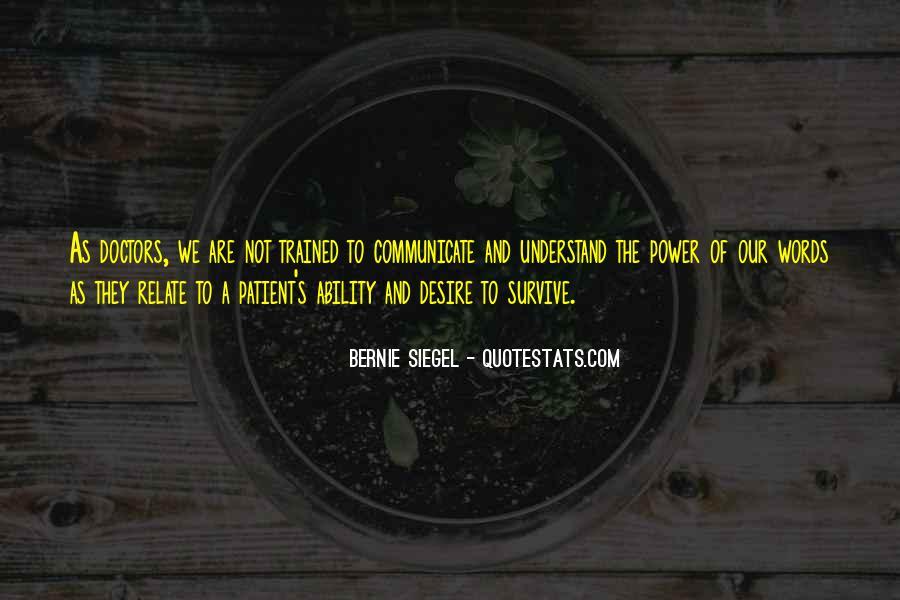 Bernie Siegel Quotes #570266