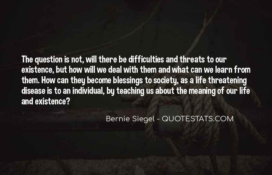Bernie Siegel Quotes #702037