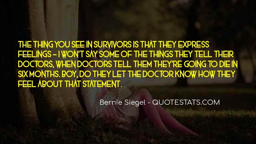 Bernie Siegel Quotes #725704