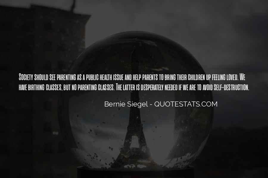 Bernie Siegel Quotes #911507