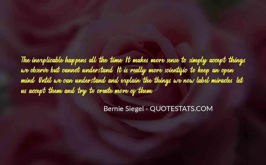 Bernie Siegel Quotes #925316