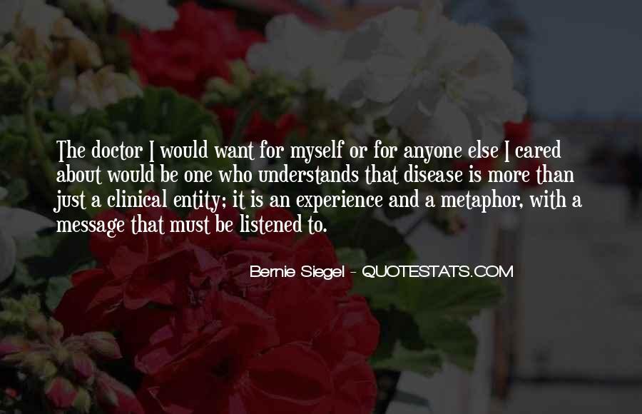 Bernie Siegel Quotes #958653