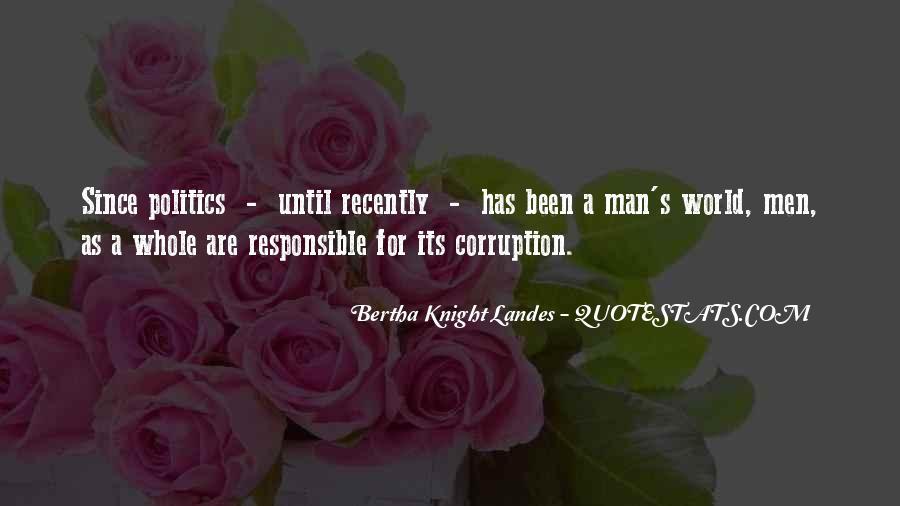 Bertha Knight Landes Quotes #1455814