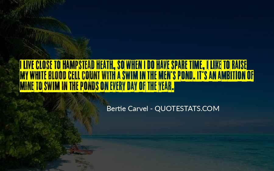 Bertie Carvel Quotes #1412392