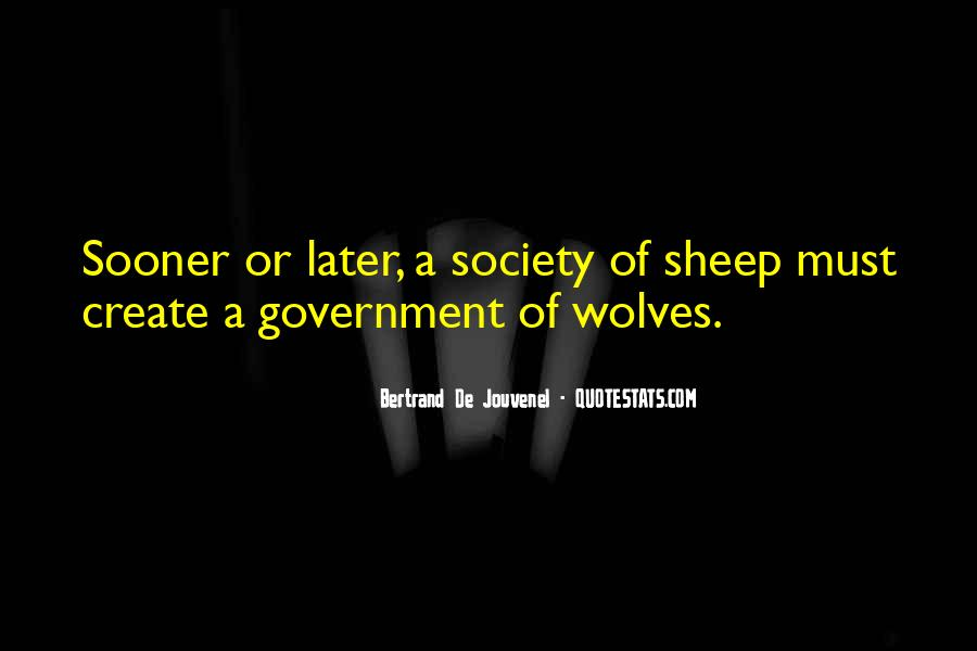 Bertrand De Jouvenel Quotes #144492