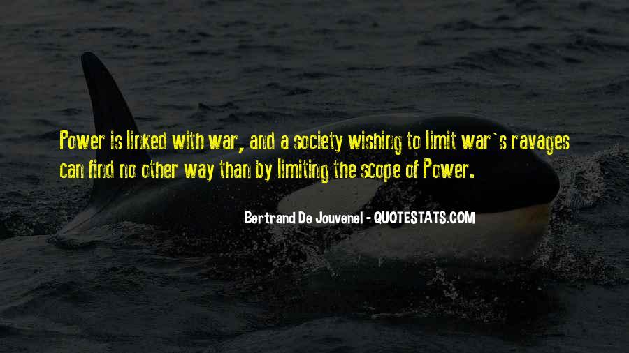 Bertrand De Jouvenel Quotes #1579438