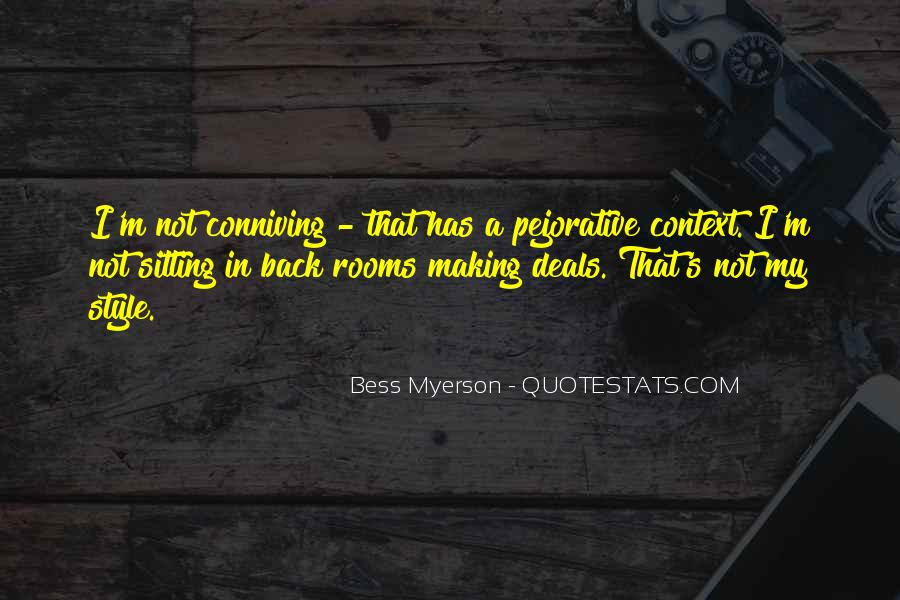 Bess Myerson Quotes #170042