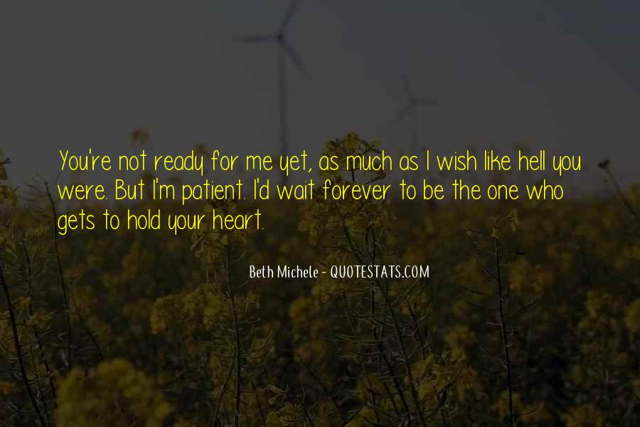 Beth Michele Quotes #506157