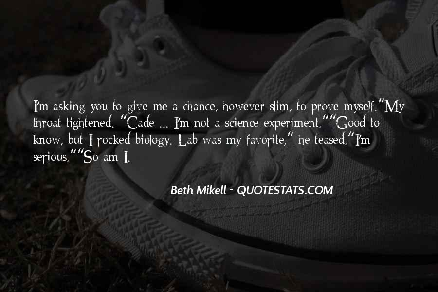 Beth Mikell Quotes #946979