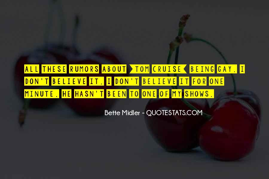 Bette Midler Quotes #1363401