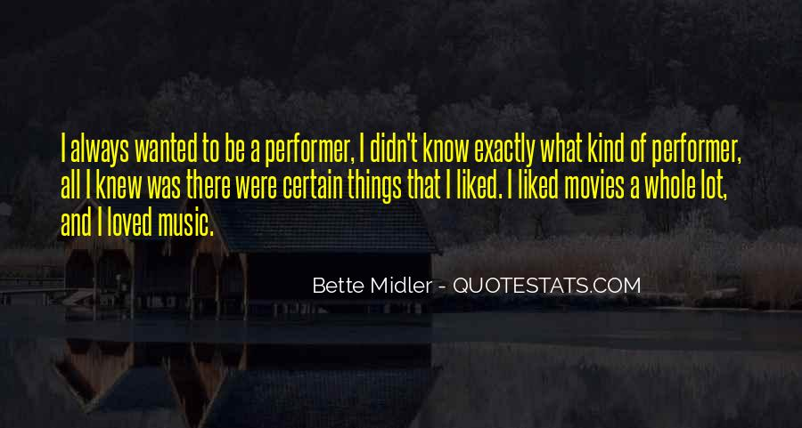 Bette Midler Quotes #1678141