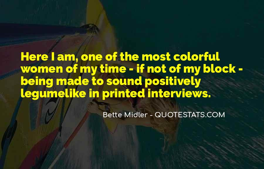 Bette Midler Quotes #834645