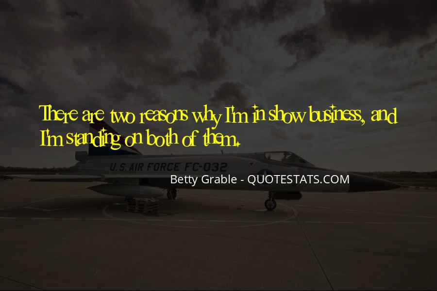 Betty Grable Quotes #1614176