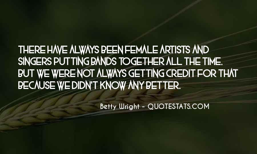 Betty Wright Quotes #1558944