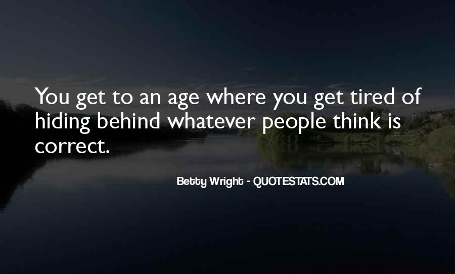Betty Wright Quotes #808390