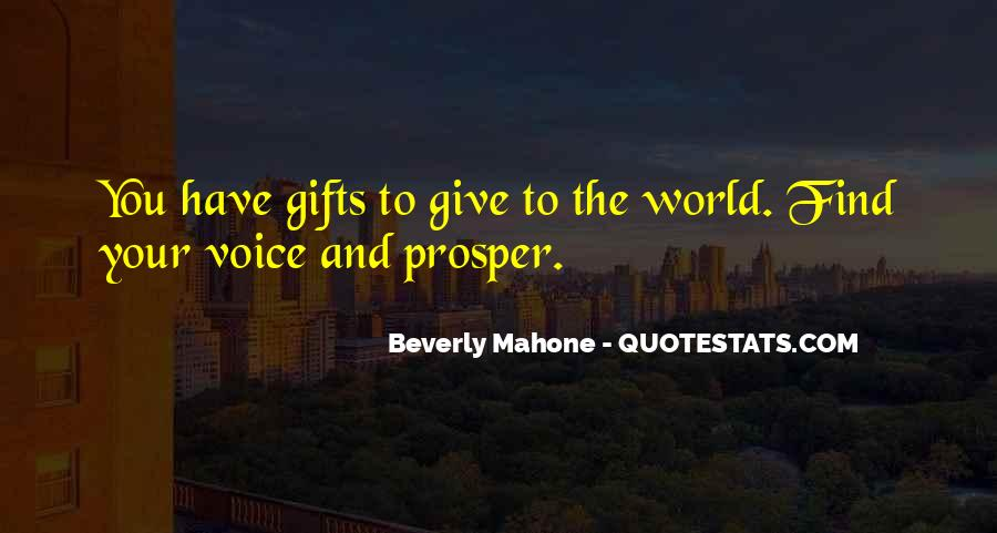 Beverly Mahone Quotes #59314