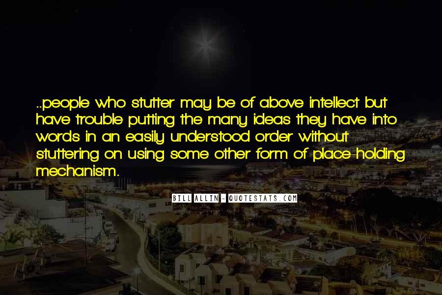 Bill Allin Quotes #947758