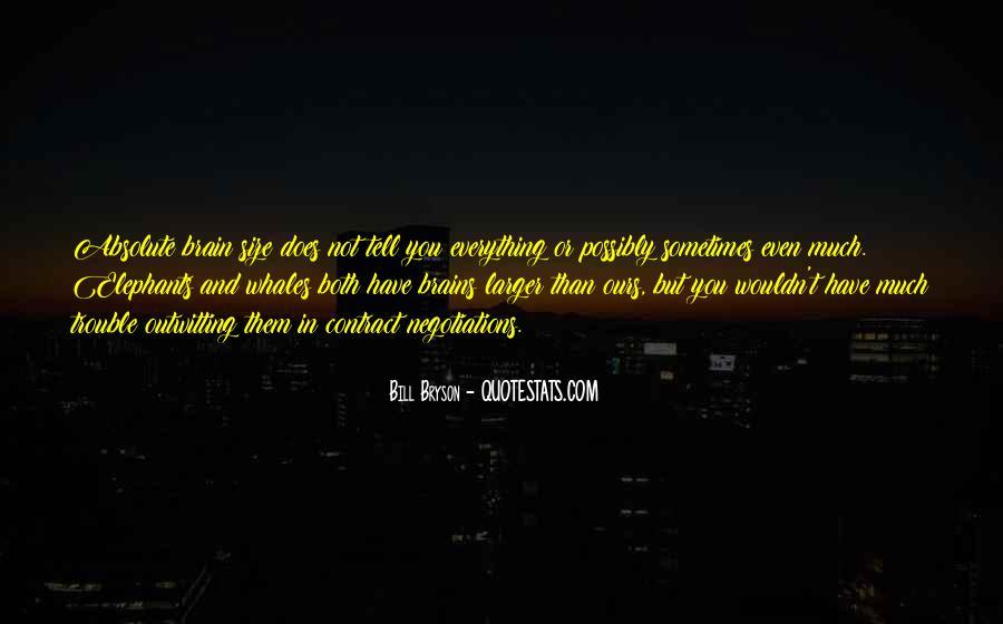 Bill Bryson Quotes #1807038