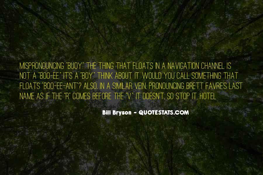 Bill Bryson Quotes #593618