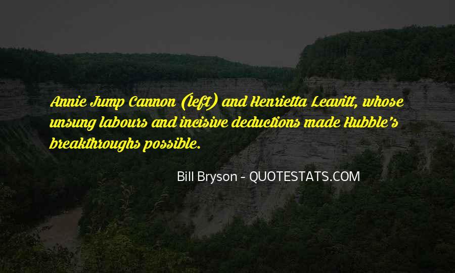 Bill Bryson Quotes #693442