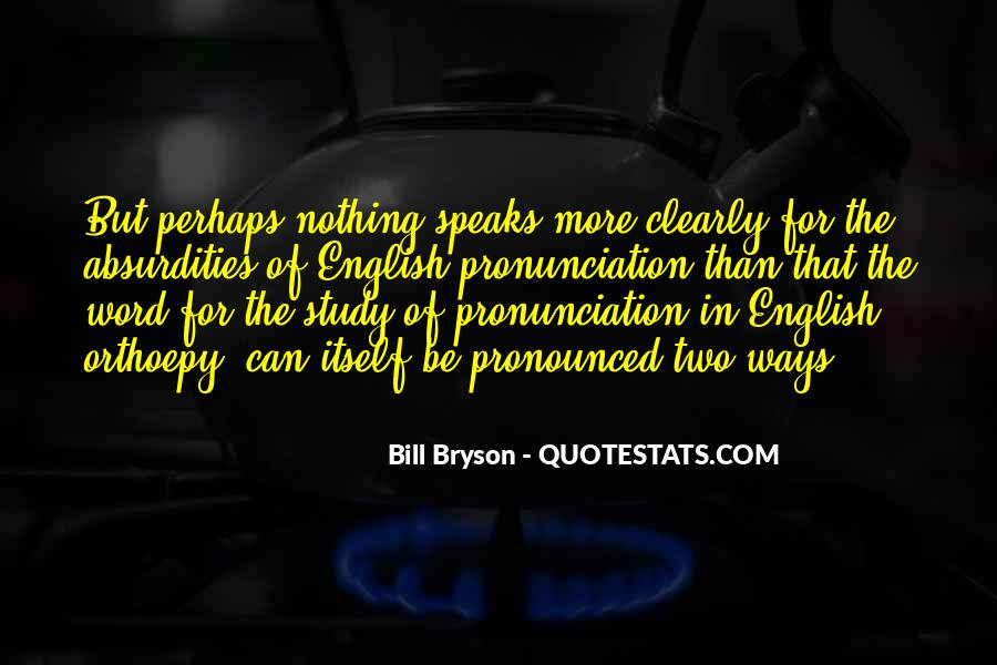 Bill Bryson Quotes & Sayings