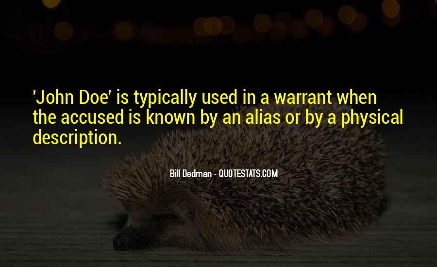 Bill Dedman Quotes #1014942