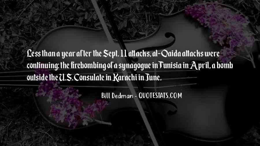 Bill Dedman Quotes #1132885