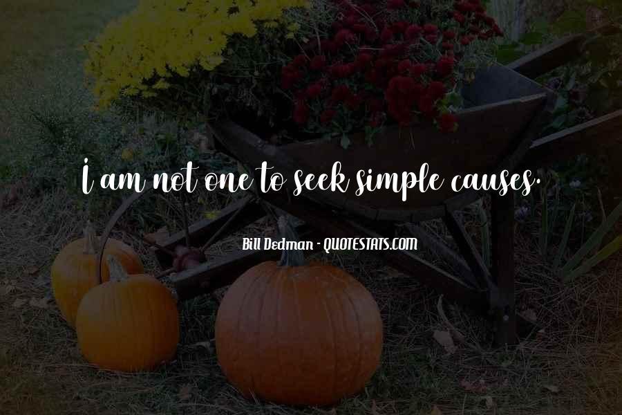 Bill Dedman Quotes #1184565