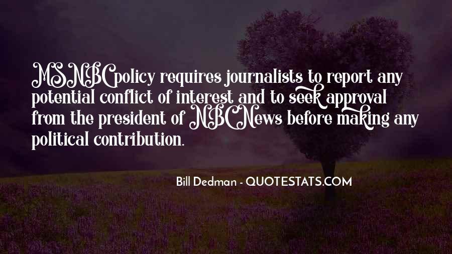 Bill Dedman Quotes #1783275