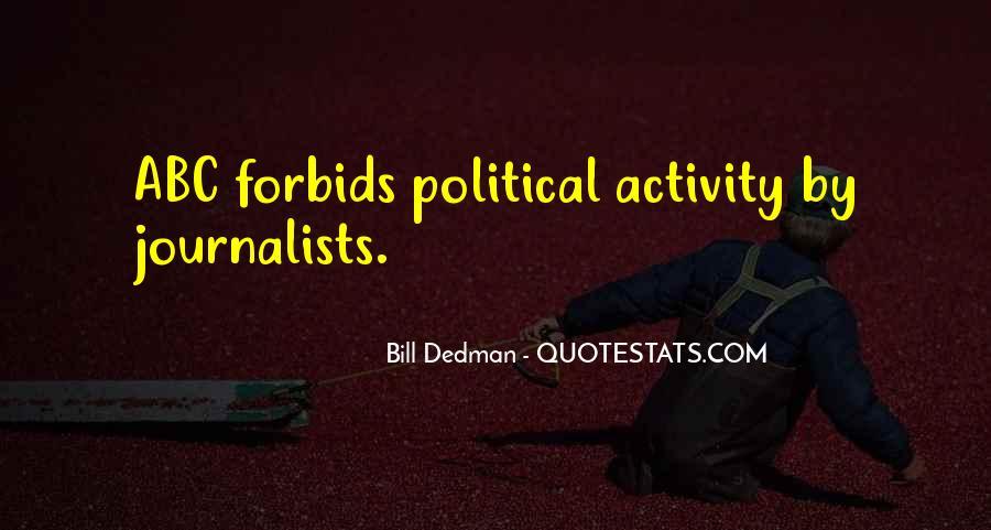 Bill Dedman Quotes #375230