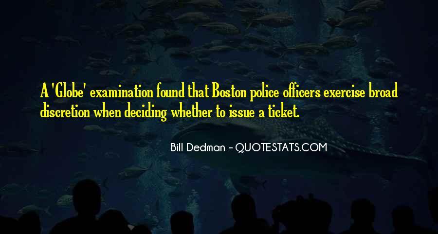 Bill Dedman Quotes #453426