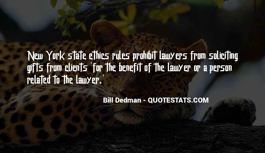 Bill Dedman Quotes #718709